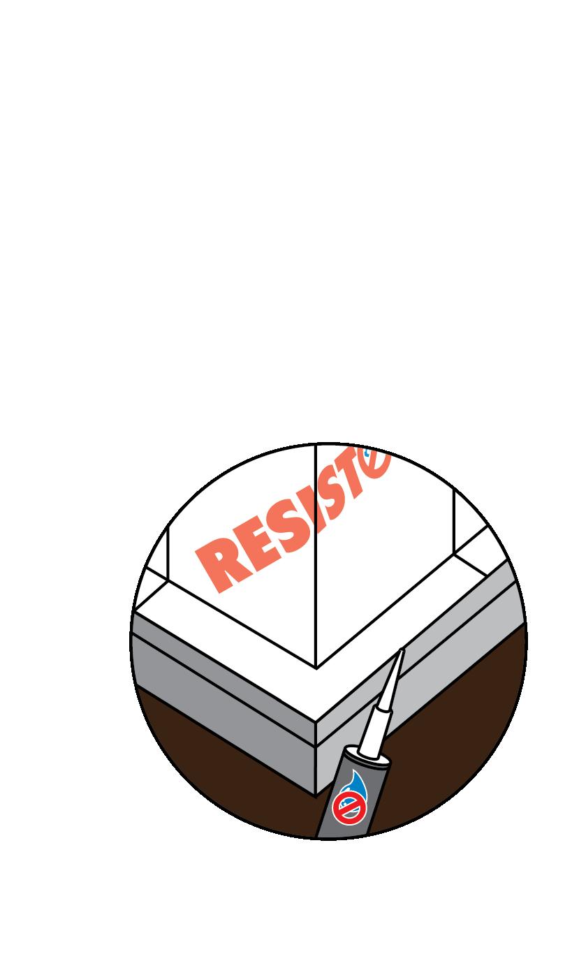 Foundation Waterproofing (Below-Grade Walls) | RESISTO