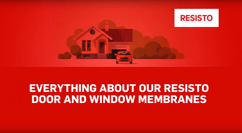 Everything About Our RESISTO Door and Window Membranes | RESISTO