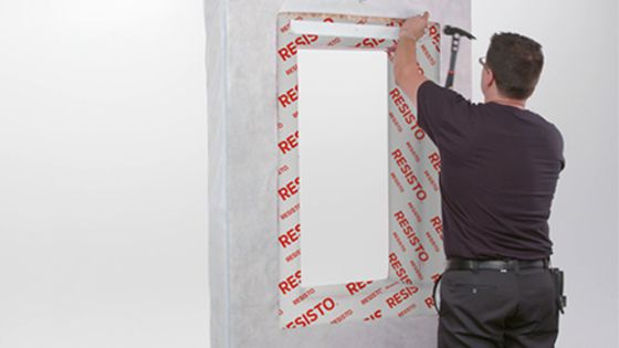 Installation Guide - All-Weather Flashing Tape - Step 5