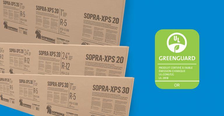 XPS greenguard or
